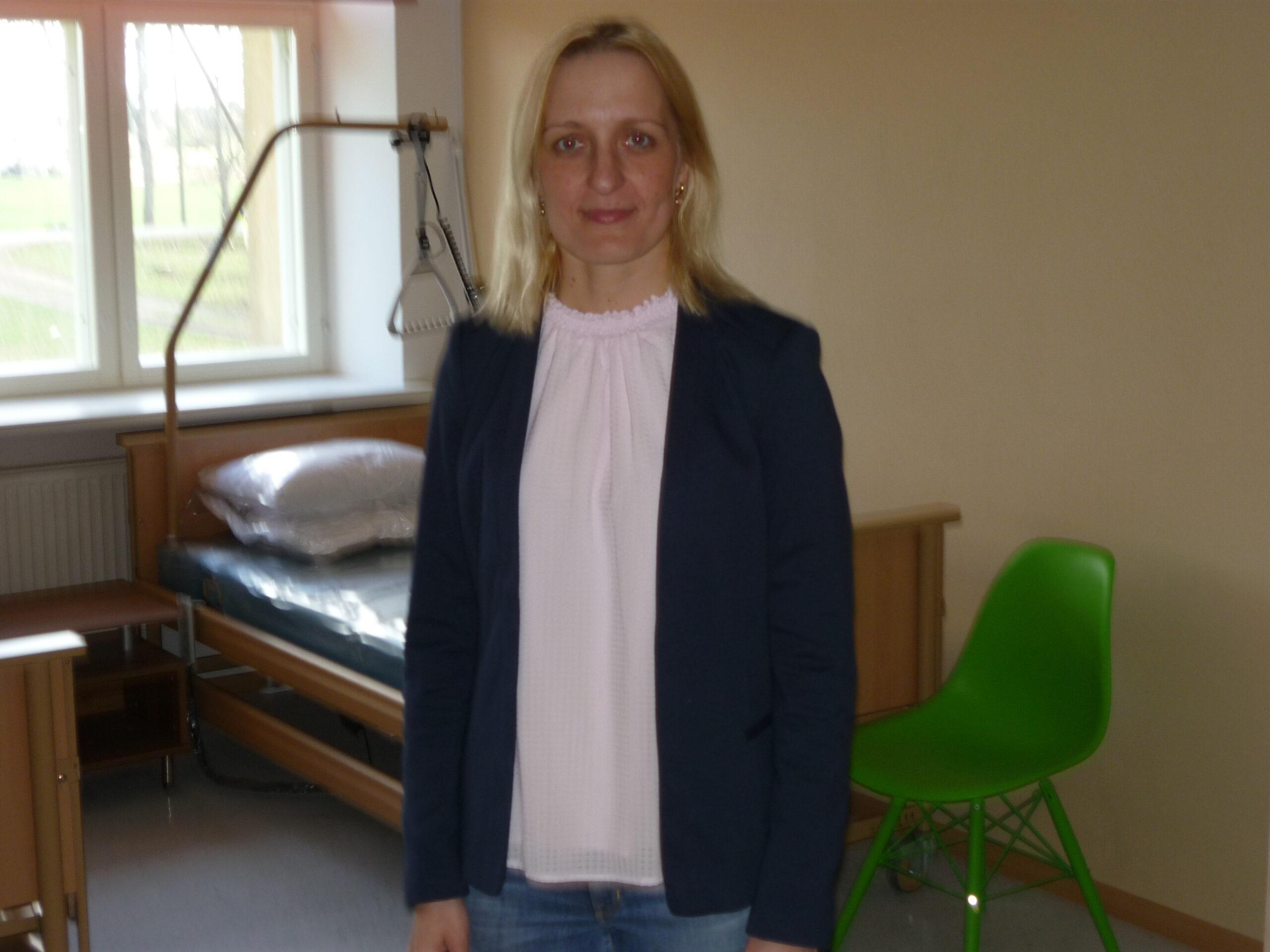 kuusiku hooldekodu projekti juht Kristi Reinberg